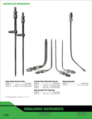 Super Drain Tube-Laboratory Accessory-Mortech Manufacturing Company Inc. Quality Stainless Steel Autopsy, Morgue, Funeral Home, Necropsy, Veterinary / Anatomy, Dissection Equipment and Accessories