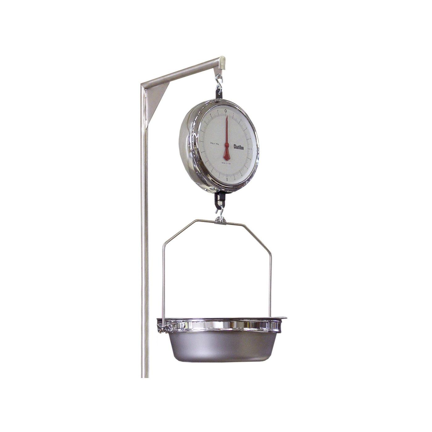 Double Dial Hanging Autopsy Scale-Laboratory Accessory-Mortech Manufacturing Company Inc. Quality Stainless Steel Autopsy, Morgue, Funeral Home, Necropsy, Veterinary / Anatomy, Dissection Equipment and Accessories