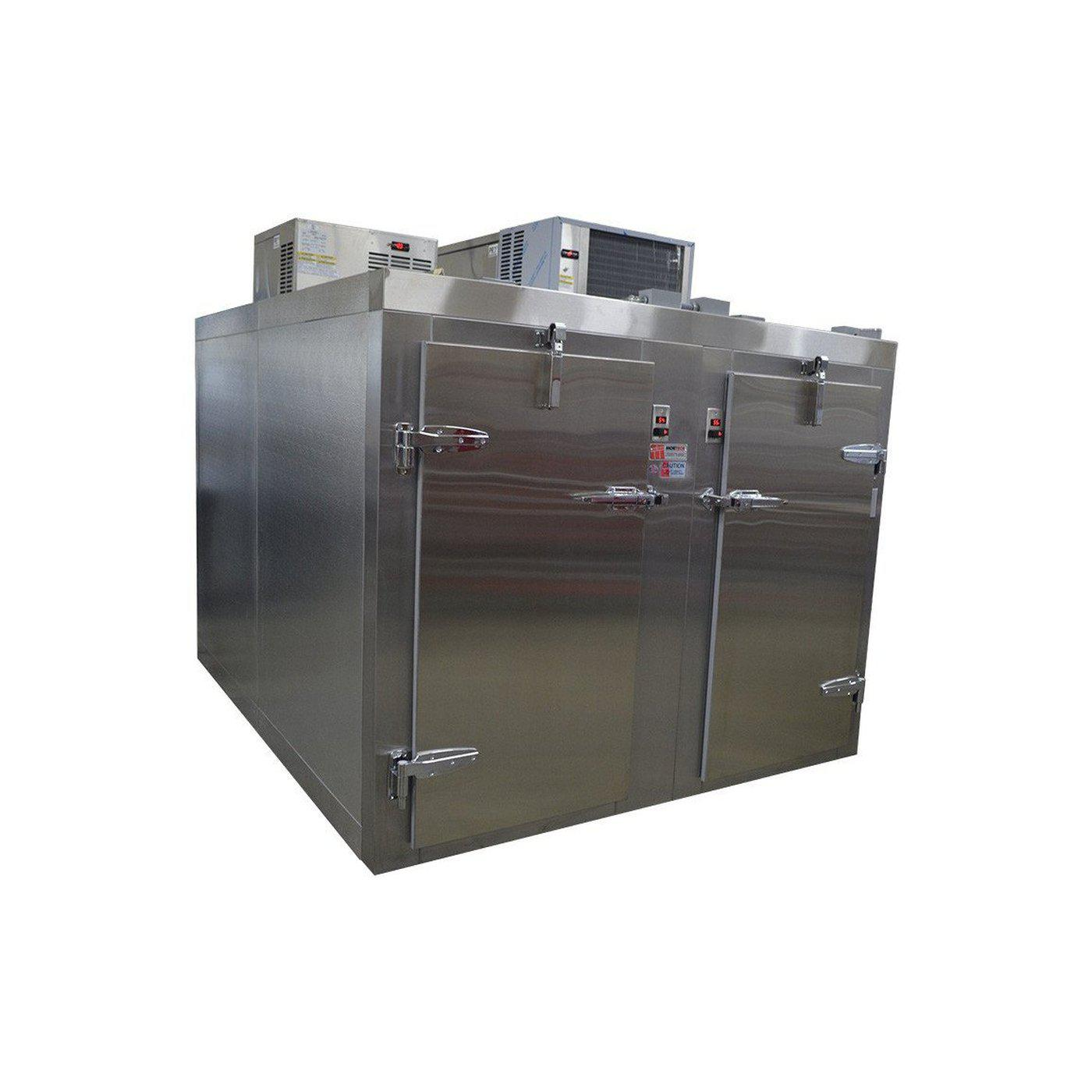 Dual Temperature Refrigerator / Freezer-Refrigeration-Mortech Manufacturing Company Inc. Quality Stainless Steel Autopsy, Morgue, Funeral Home, Necropsy, Veterinary / Anatomy, Dissection Equipment and Accessories