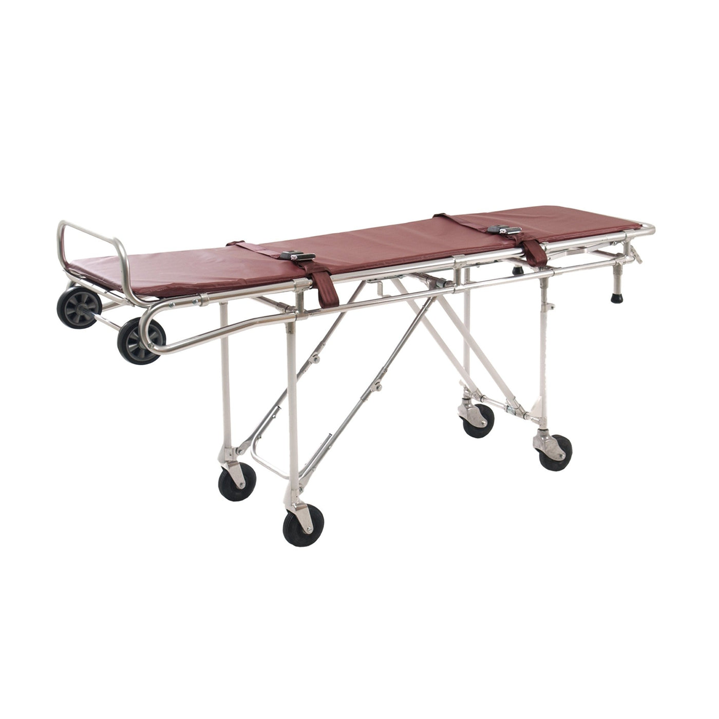 Roll-In Mortuary Cot-Body Transporter-Mortech Manufacturing Company Inc. Quality Stainless Steel Autopsy, Morgue, Funeral Home, Necropsy, Veterinary / Anatomy, Dissection Equipment and Accessories