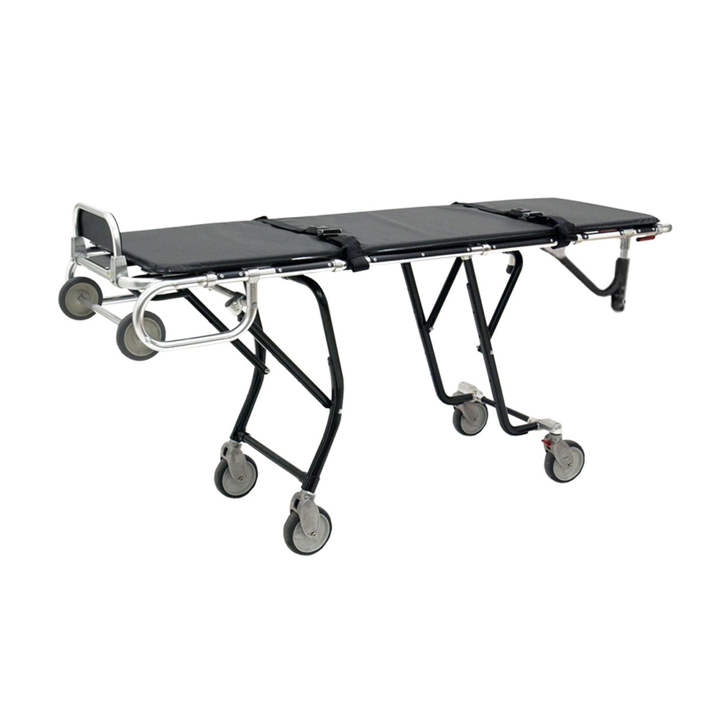 Side-by-Side Bariatric Mortuary Cot-Body Transporter-Mortech Manufacturing Company Inc. Quality Stainless Steel Autopsy, Morgue, Funeral Home, Necropsy, Veterinary / Anatomy, Dissection Equipment and Accessories