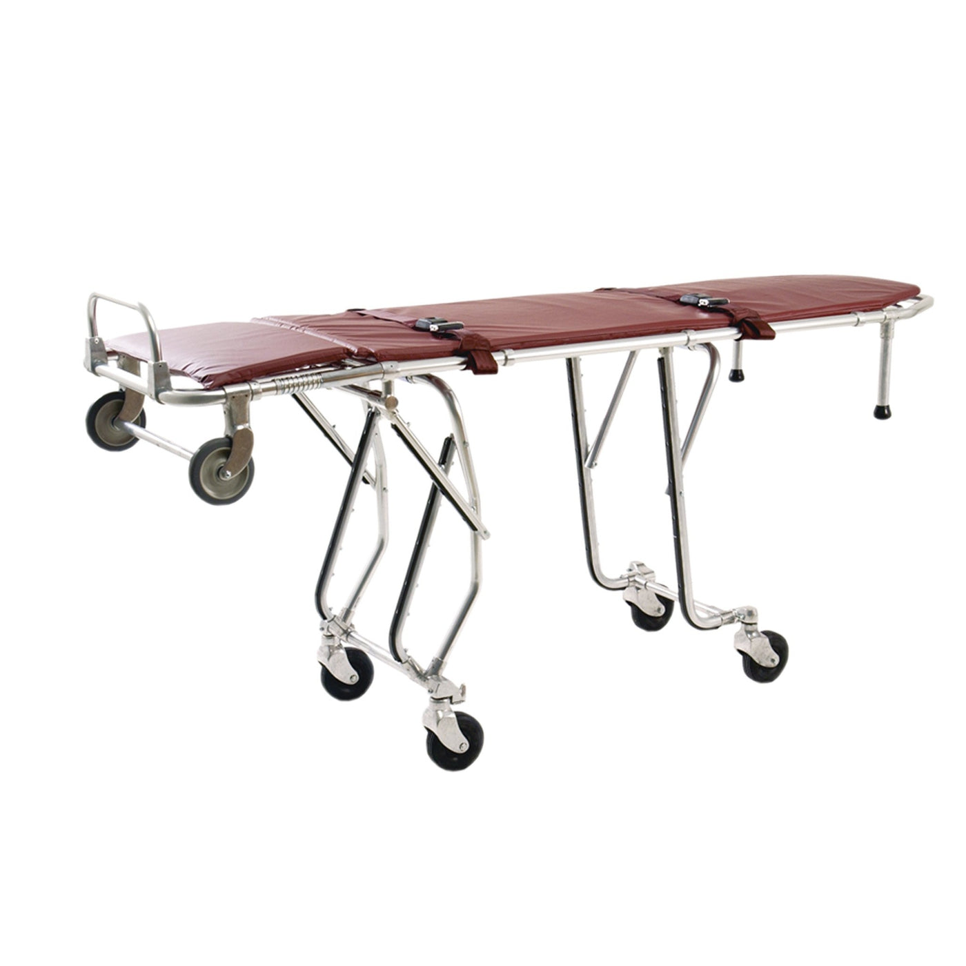 First Call Mortuary Cot-Body Transporter-Mortech Manufacturing Company Inc. Quality Stainless Steel Autopsy, Morgue, Funeral Home, Necropsy, Veterinary / Anatomy, Dissection Equipment and Accessories