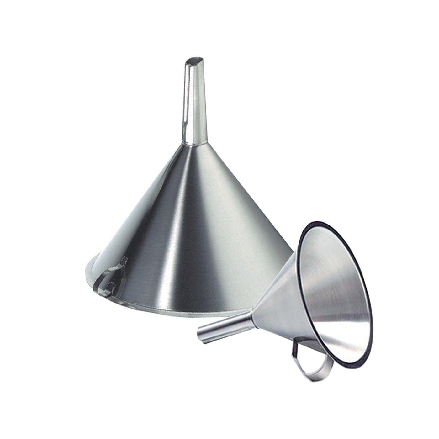 Funnels-Laboratory Accessory-Mortech Manufacturing Company Inc. Quality Stainless Steel Autopsy, Morgue, Funeral Home, Necropsy, Veterinary / Anatomy, Dissection Equipment and Accessories
