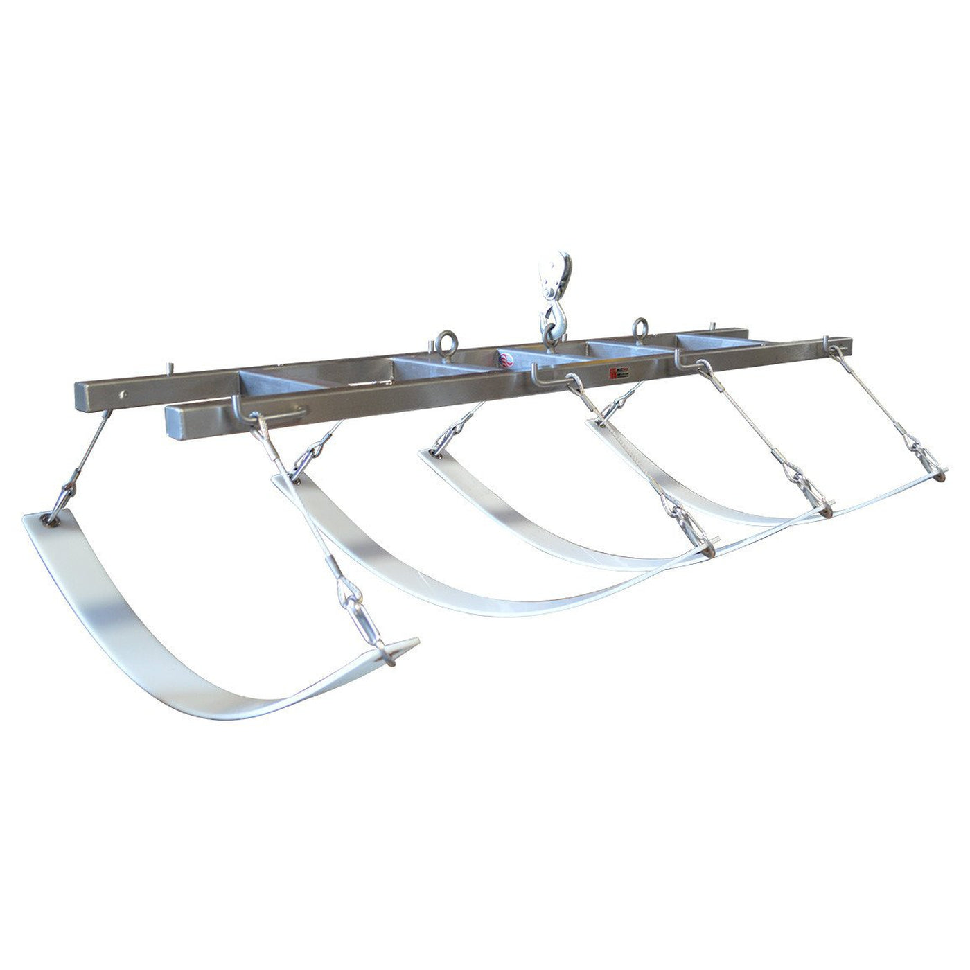 Adjustable Strap Lift Assembly with Rigid Body Strap-Cadaver Handling & Storage Systems-Mortech Manufacturing Company Inc. Quality Stainless Steel Autopsy, Morgue, Funeral Home, Necropsy, Veterinary / Anatomy, Dissection Equipment and Accessories