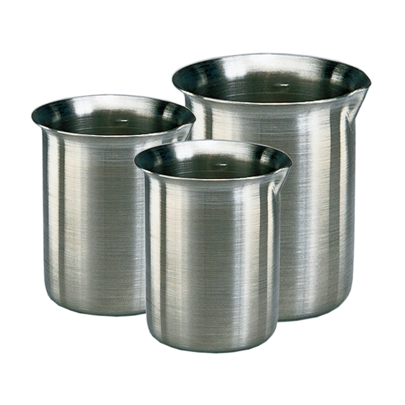 Griffin Style Beakers-Laboratory Accessory-Mortech Manufacturing Company Inc. Quality Stainless Steel Autopsy, Morgue, Funeral Home, Necropsy, Veterinary / Anatomy, Dissection Equipment and Accessories
