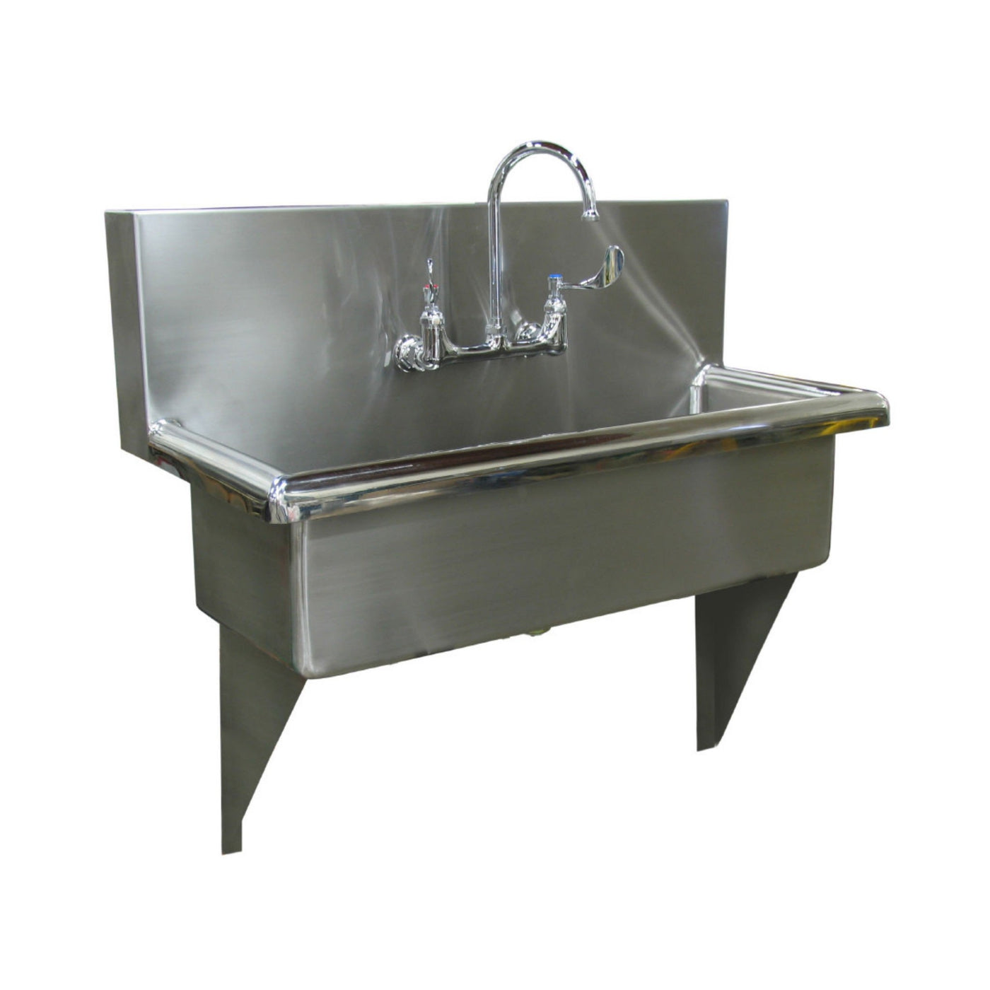 Economy Wash Station-Sink Station-Mortech Manufacturing Company Inc. Quality Stainless Steel Autopsy, Morgue, Funeral Home, Necropsy, Veterinary / Anatomy, Dissection Equipment and Accessories