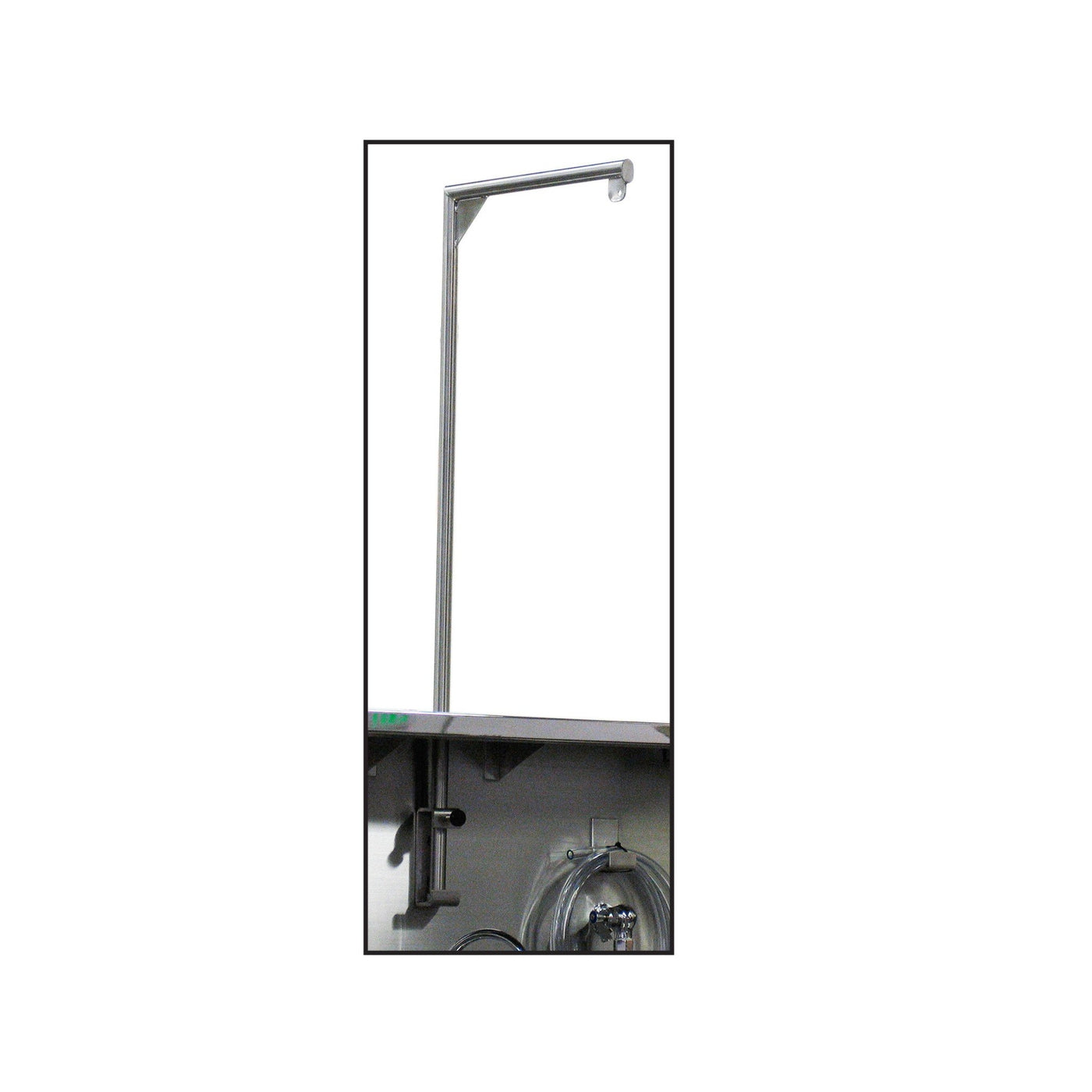 Scale Pole & Bracket for Sink Station-Laboratory Accessory-Mortech Manufacturing Company Inc. Quality Stainless Steel Autopsy, Morgue, Funeral Home, Necropsy, Veterinary / Anatomy, Dissection Equipment and Accessories