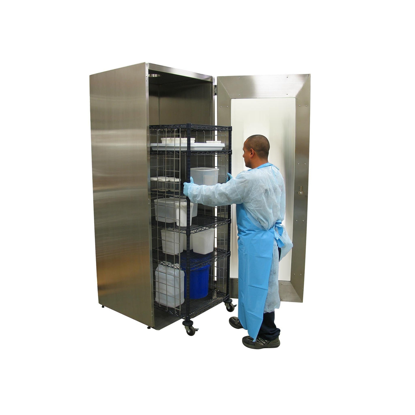 Ventilated Tissue Storage Cabinets | Mortech Manufacturing Company ...