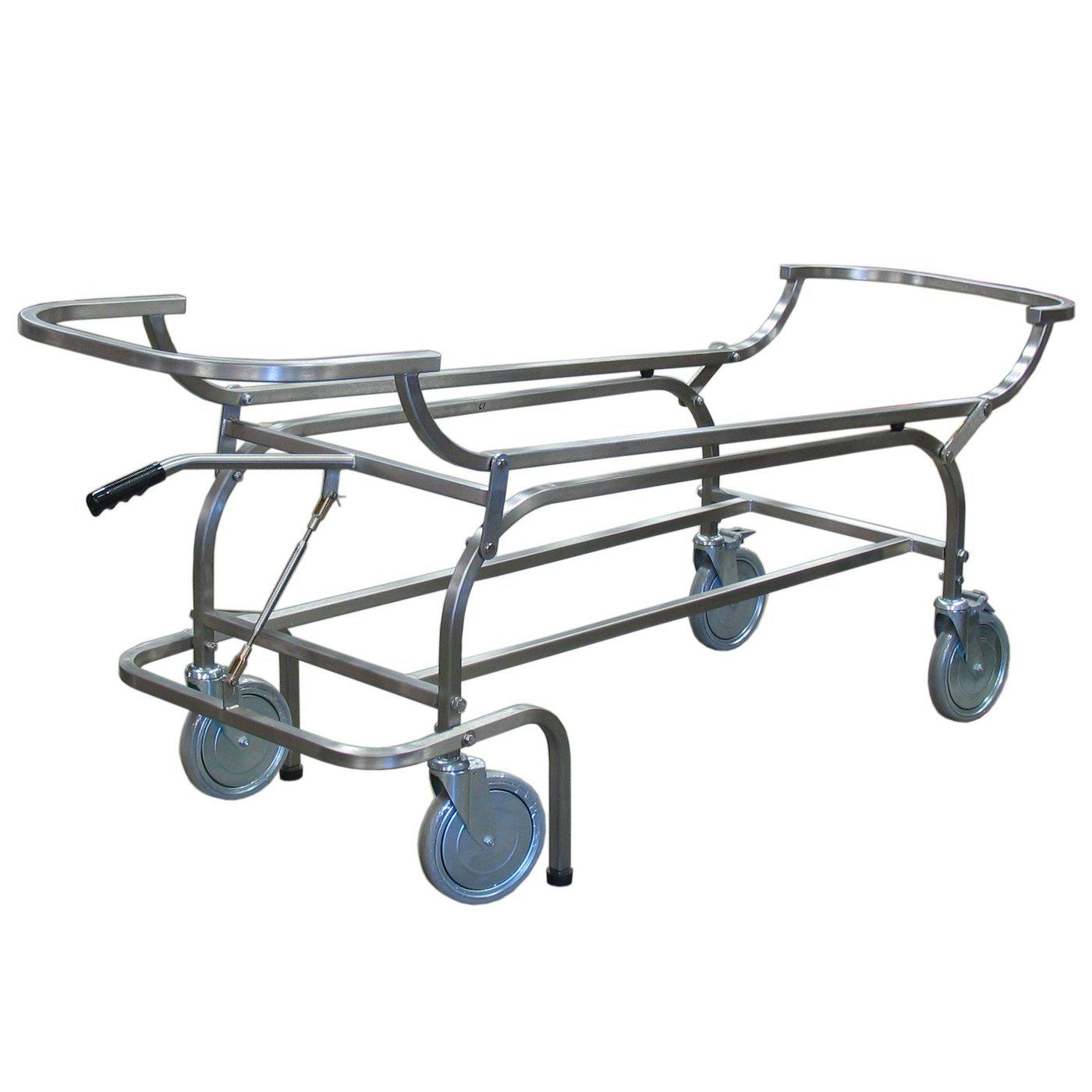Carrier Chassis-Body Transporter-Mortech Manufacturing Company Inc. Quality Stainless Steel Autopsy, Morgue, Funeral Home, Necropsy, Veterinary / Anatomy, Dissection Equipment and Accessories