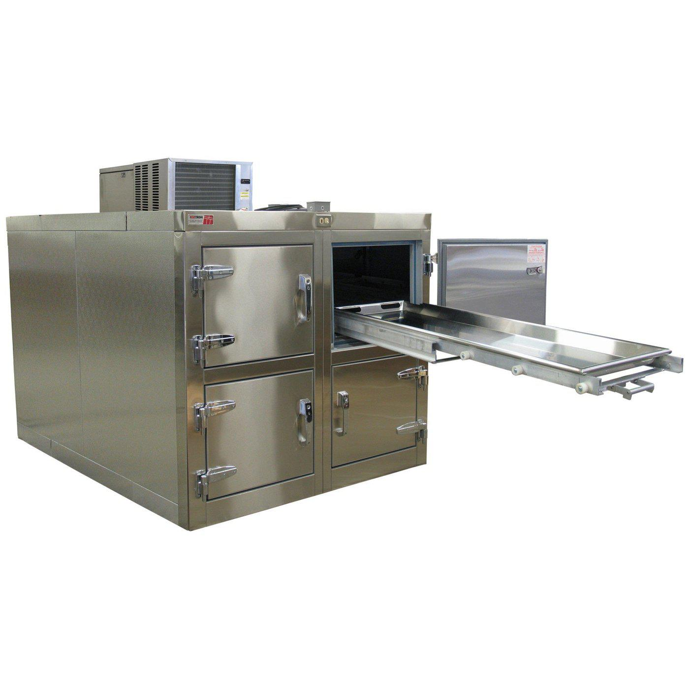Four Body Refrigerator-Refrigeration-Mortech Manufacturing Company Inc. Quality Stainless Steel Autopsy, Morgue, Funeral Home, Necropsy, Veterinary / Anatomy, Dissection Equipment and Accessories