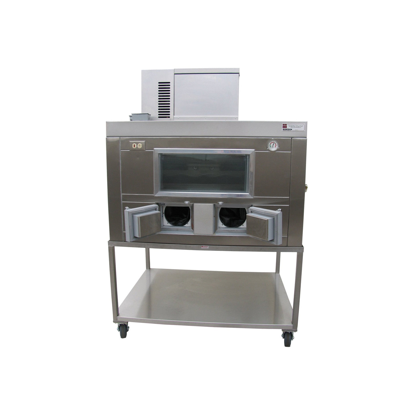 Freezer Workstation-Anatomy Dissection Tables-Mortech Manufacturing Company Inc. Quality Stainless Steel Autopsy, Morgue, Funeral Home, Necropsy, Veterinary / Anatomy, Dissection Equipment and Accessories