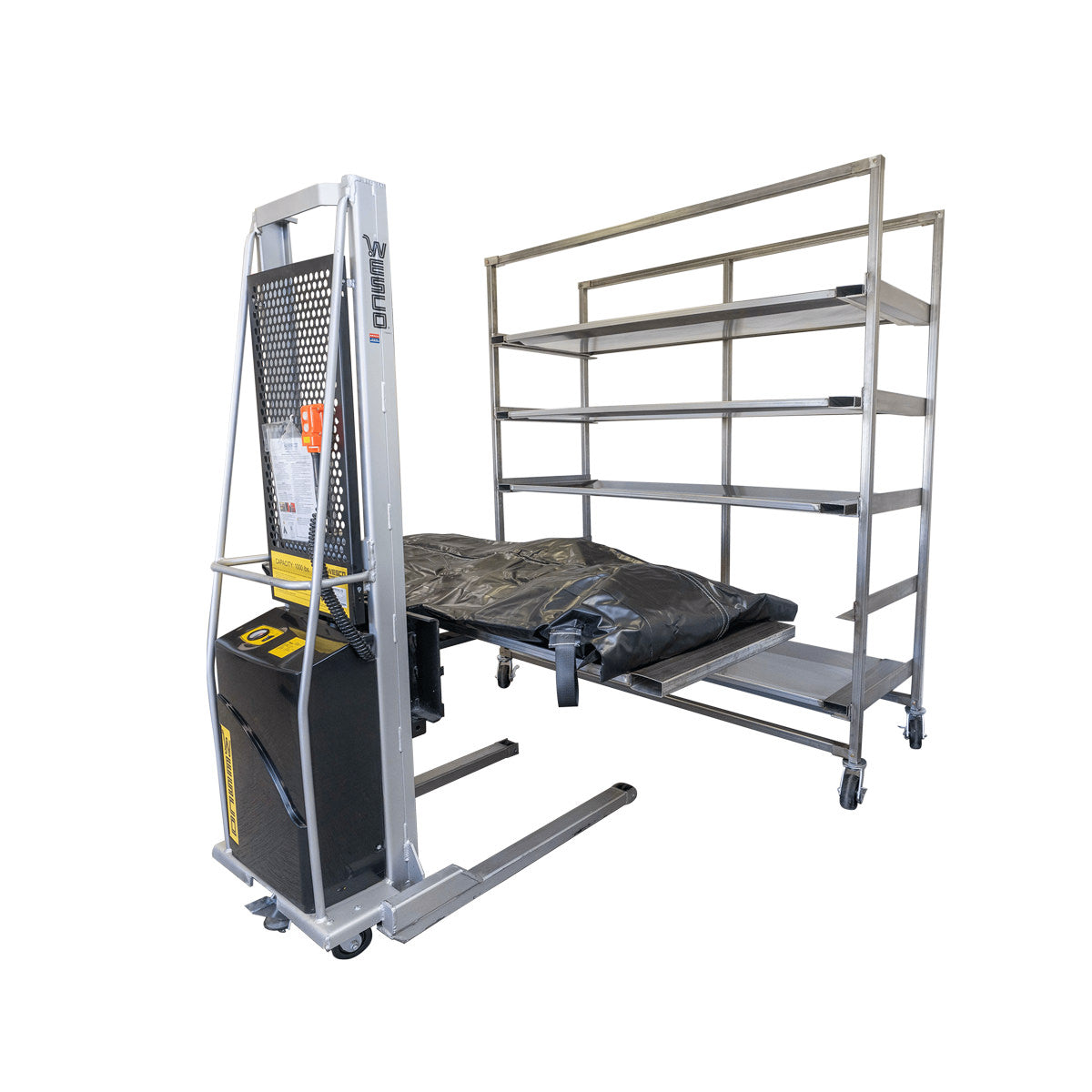Ready Response Rack Quick Deploy Morgue Rack & Body Tray System