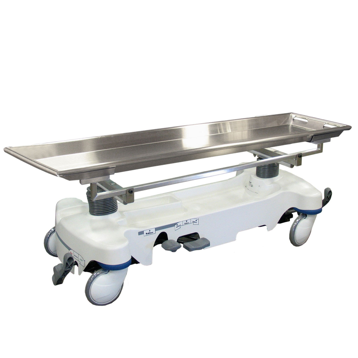 600018-H Hydraulic Autopsy Carriers-Body Transporter-Mortech Manufacturing Company Inc. Quality Stainless Steel Autopsy, Morgue, Funeral Home, Necropsy, Veterinary / Anatomy, Dissection Equipment and Accessories