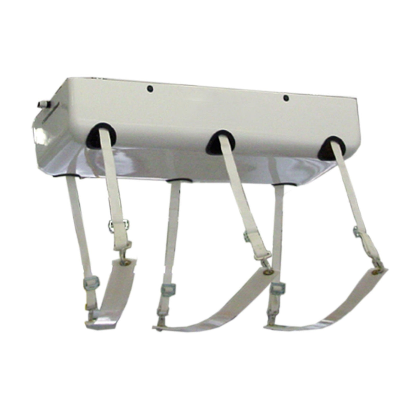 Electric Ceiling Mounted Lift with Straps-Cadaver Handling & Storage Systems-Mortech Manufacturing Company Inc. Quality Stainless Steel Autopsy, Morgue, Funeral Home, Necropsy, Veterinary / Anatomy, Dissection Equipment and Accessories