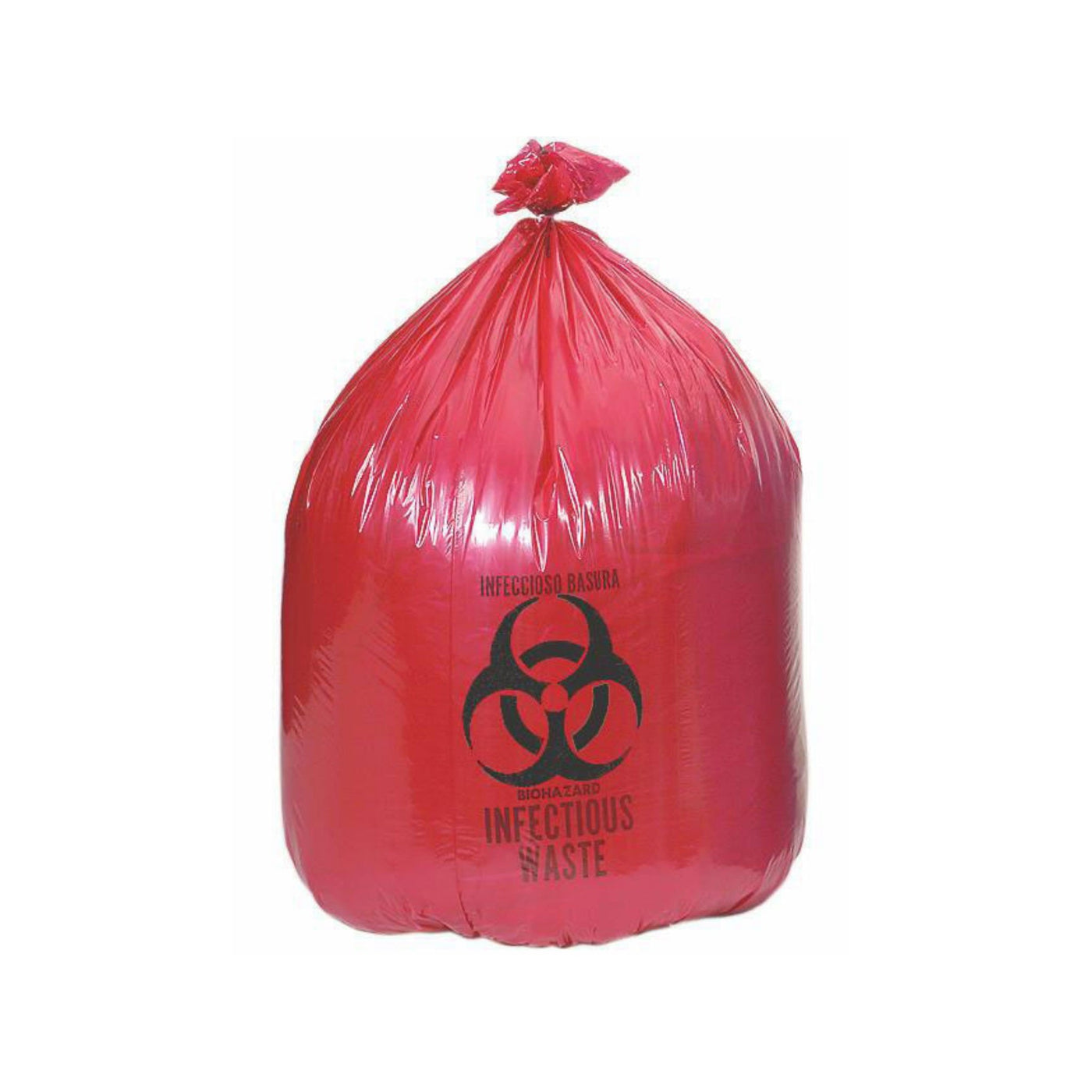 Red Infectious Waste Liners-Laboratory Accessory-Mortech Manufacturing Company Inc. Quality Stainless Steel Autopsy, Morgue, Funeral Home, Necropsy, Veterinary / Anatomy, Dissection Equipment and Accessories