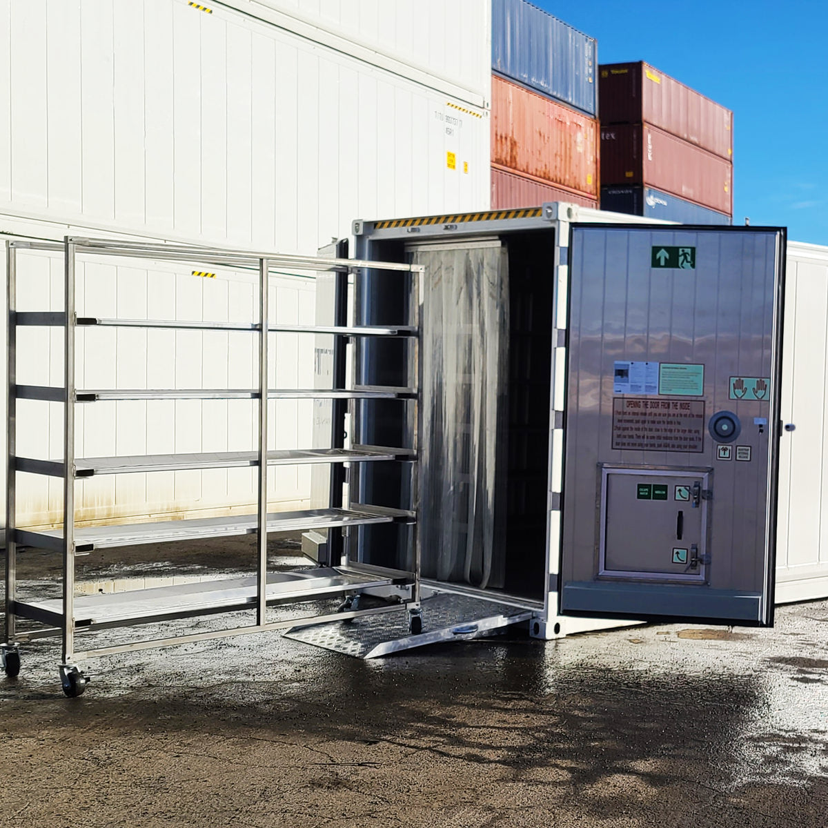 Ready Response Morgue Overflow Cold Storage Container System Rentals