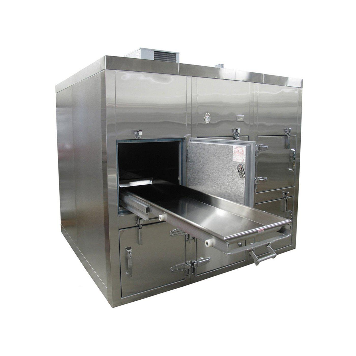 Six Body Horizontal Refrigerator-Refrigeration-Mortech Manufacturing Company Inc. Quality Stainless Steel Autopsy, Morgue, Funeral Home, Necropsy, Veterinary / Anatomy, Dissection Equipment and Accessories