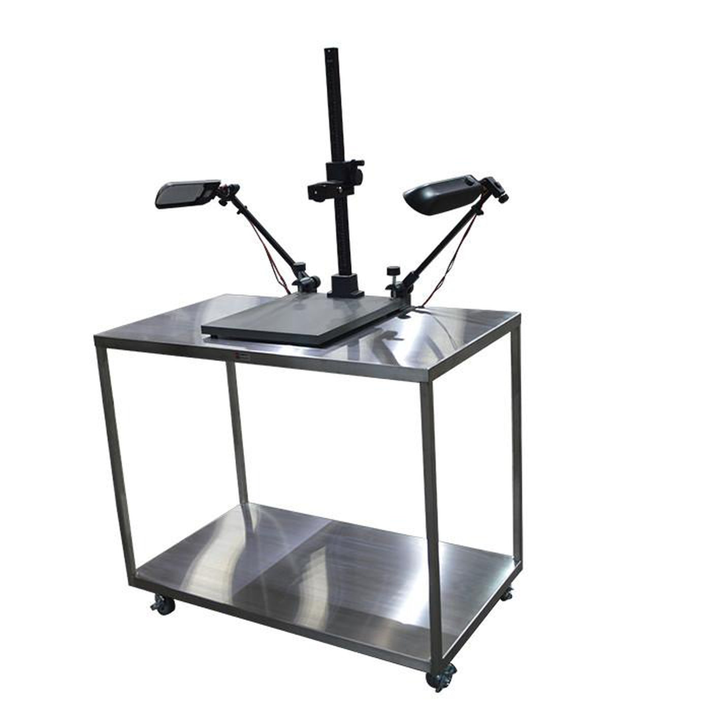 Specimen Photo Table-Laboratory Accessory-Mortech Manufacturing Company Inc. Quality Stainless Steel Autopsy, Morgue, Funeral Home, Necropsy, Veterinary / Anatomy, Dissection Equipment and Accessories