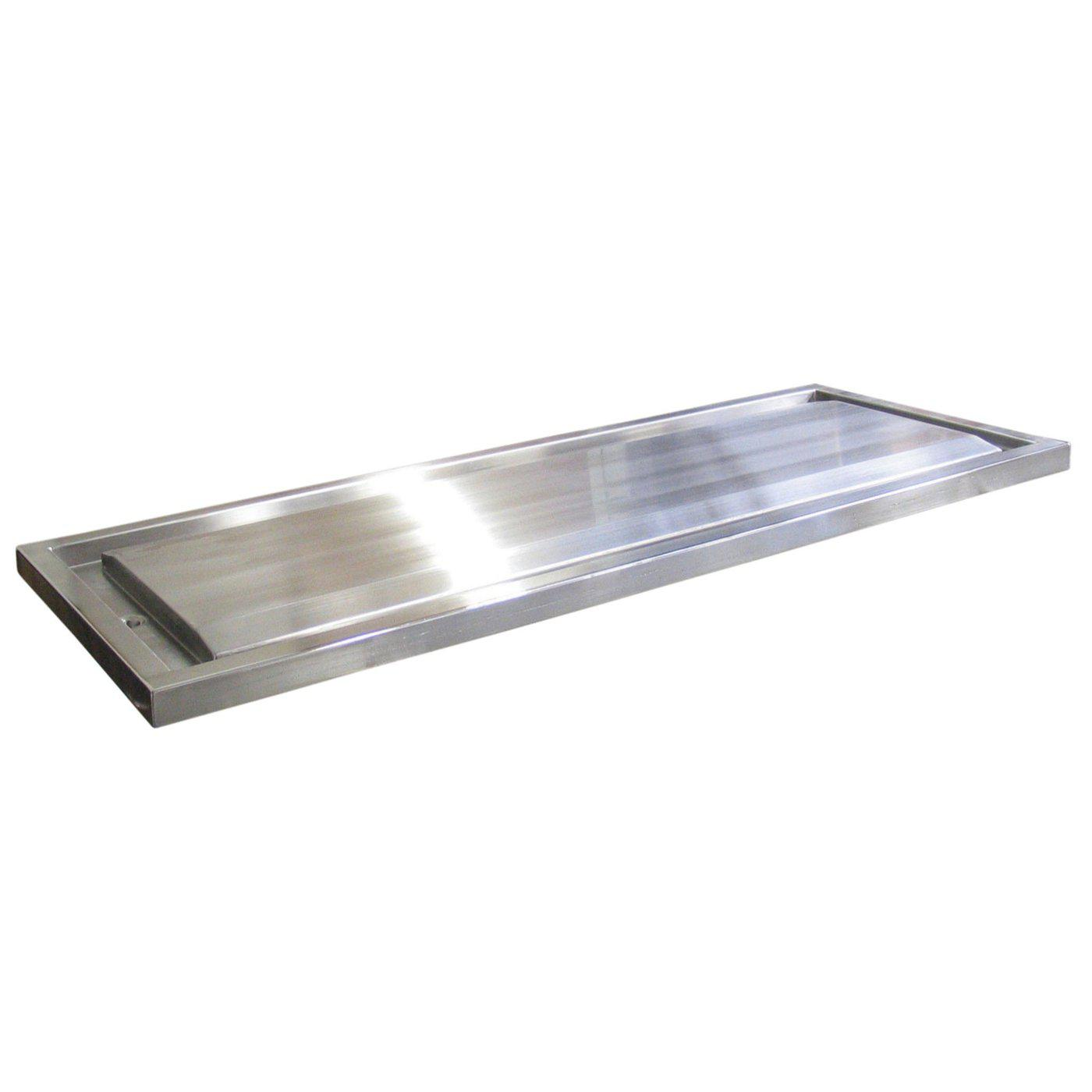 Stainless Steel Autopsy Tray with Trough-Cadaver Trays-Mortech Manufacturing Company Inc. Quality Stainless Steel Autopsy, Morgue, Funeral Home, Necropsy, Veterinary / Anatomy, Dissection Equipment and Accessories