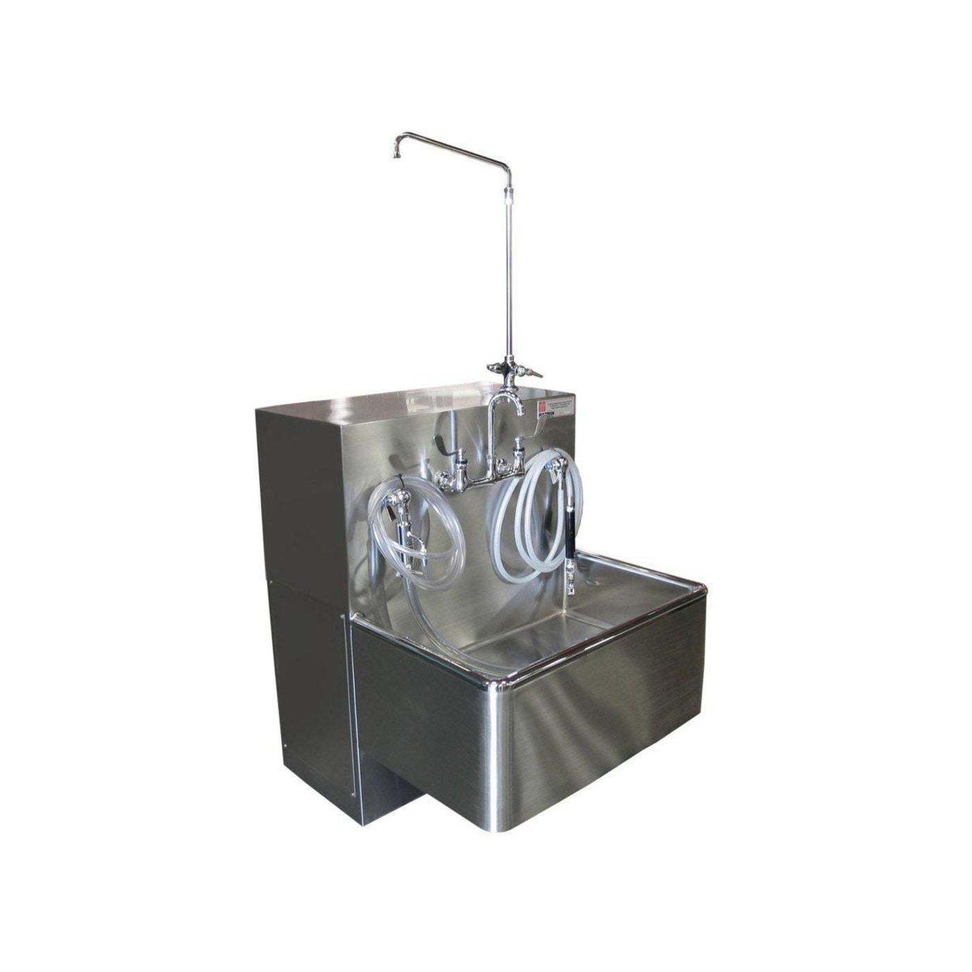 Stainless Steel Embalming Station-Sink Station-Mortech Manufacturing Company Inc. Quality Stainless Steel Autopsy, Morgue, Funeral Home, Necropsy, Veterinary / Anatomy, Dissection Equipment and Accessories