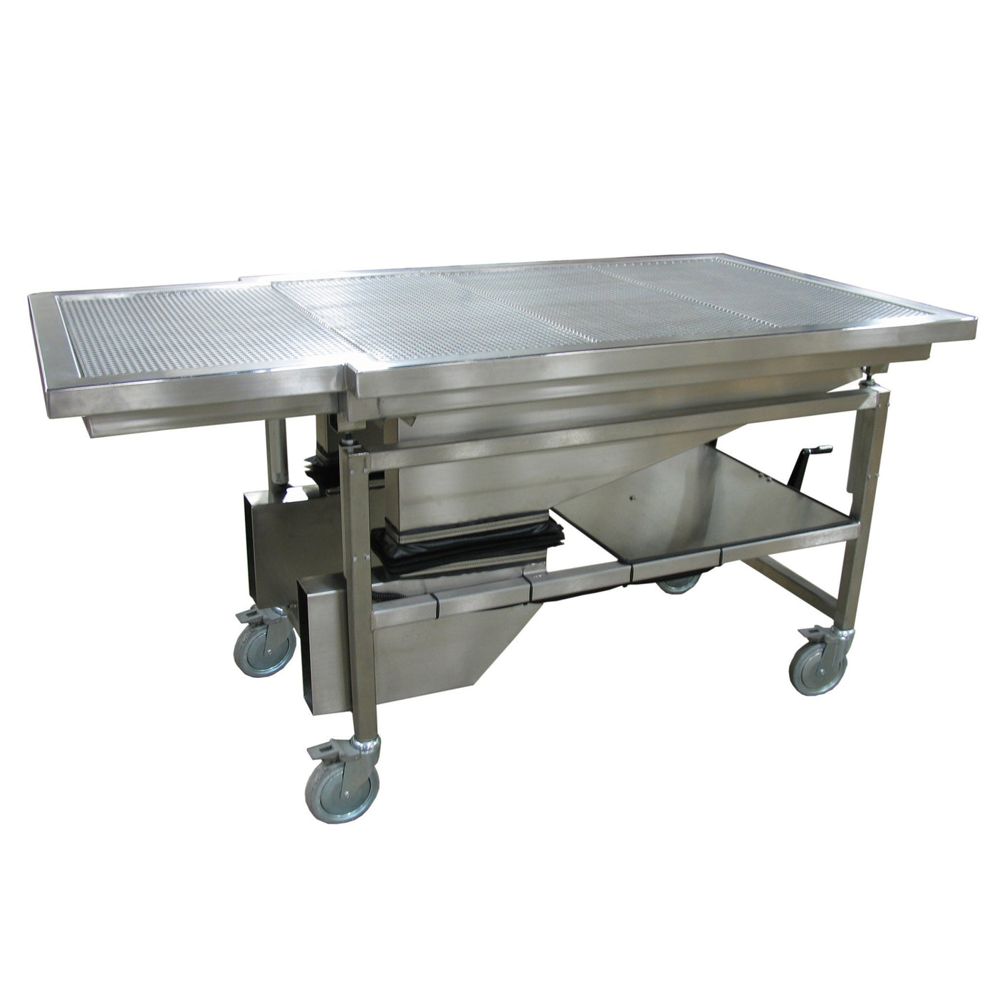 Ventilated Dissection Carrier-Anatomy Dissection Tables-Mortech Manufacturing Company Inc. Quality Stainless Steel Autopsy, Morgue, Funeral Home, Necropsy, Veterinary / Anatomy, Dissection Equipment and Accessories