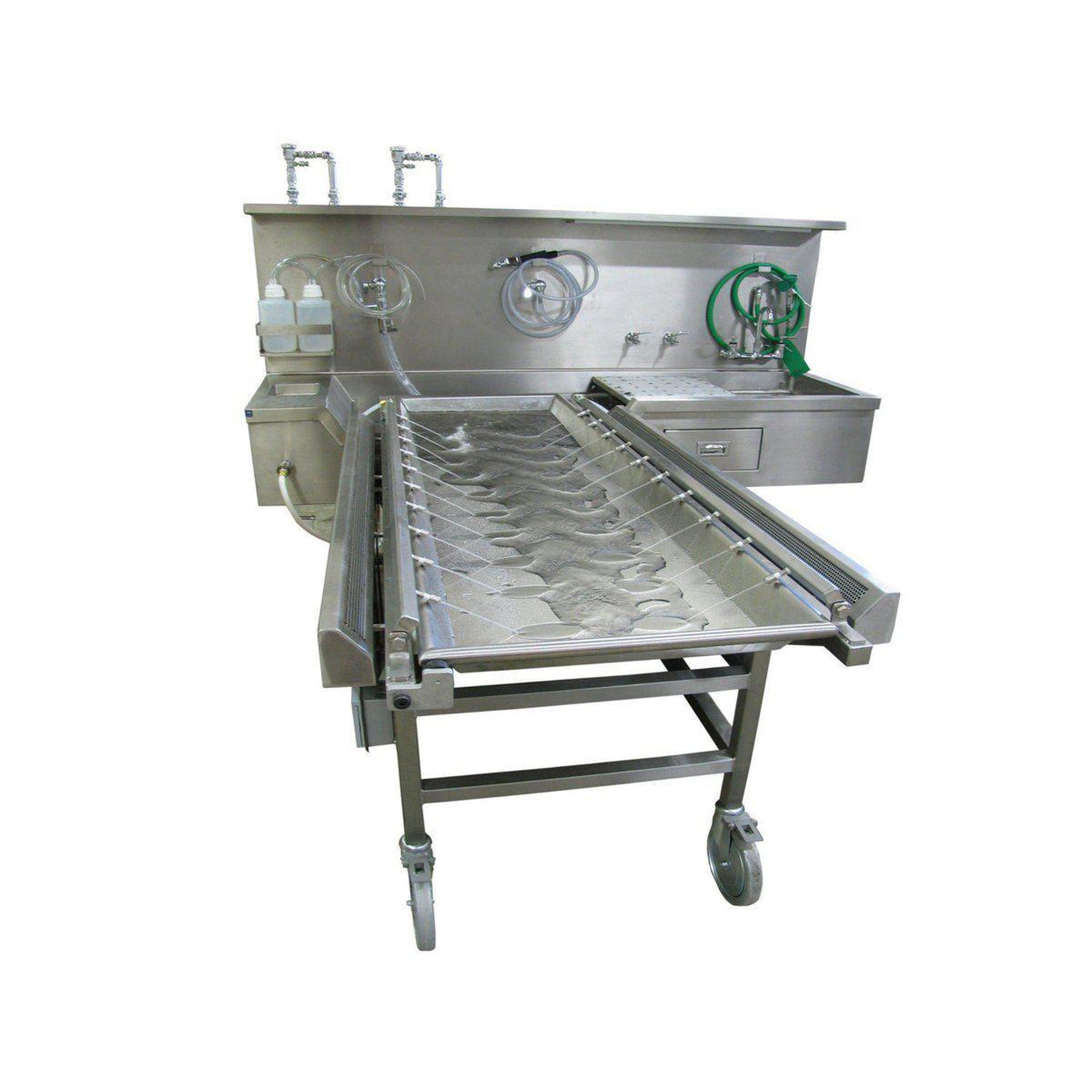 Ventilated Embalming Station-Sink Station-Mortech Manufacturing Company Inc. Quality Stainless Steel Autopsy, Morgue, Funeral Home, Necropsy, Veterinary / Anatomy, Dissection Equipment and Accessories