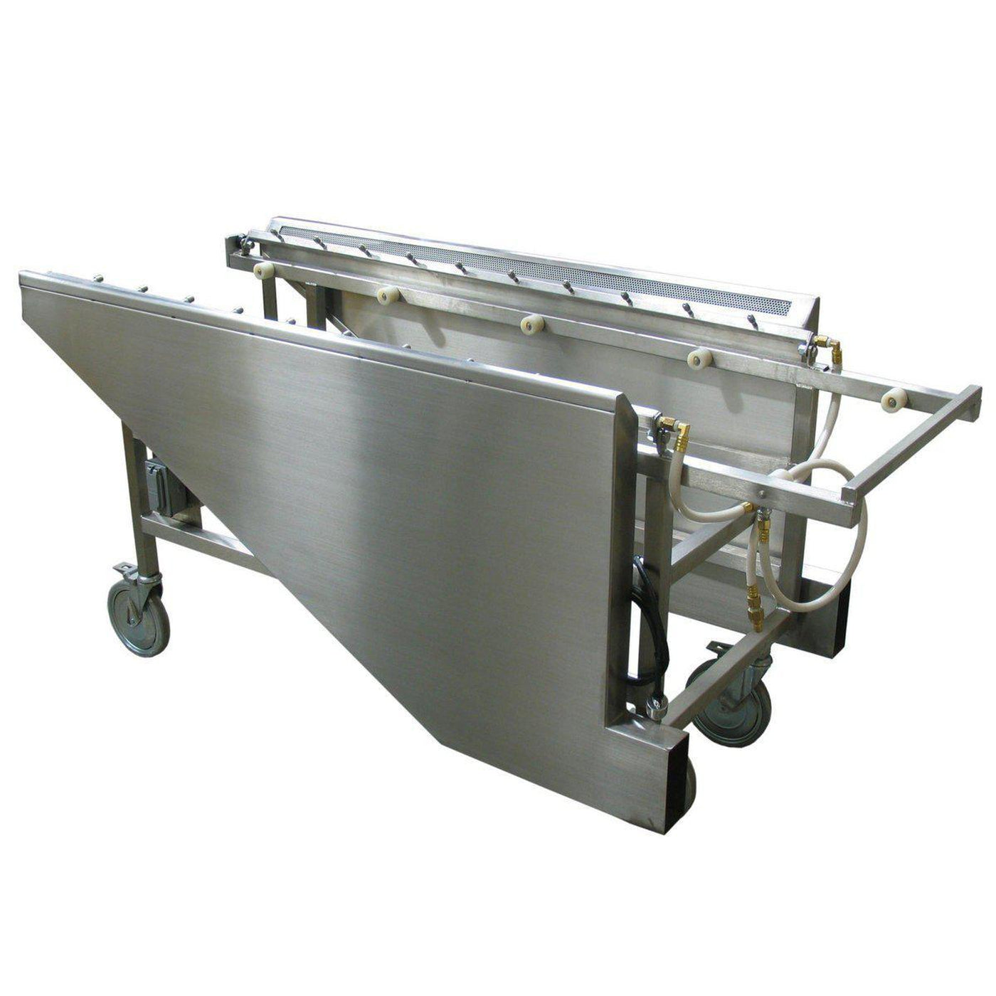 Ventilated Embalming Table-Sink Station-Mortech Manufacturing Company Inc. Quality Stainless Steel Autopsy, Morgue, Funeral Home, Necropsy, Veterinary / Anatomy, Dissection Equipment and Accessories
