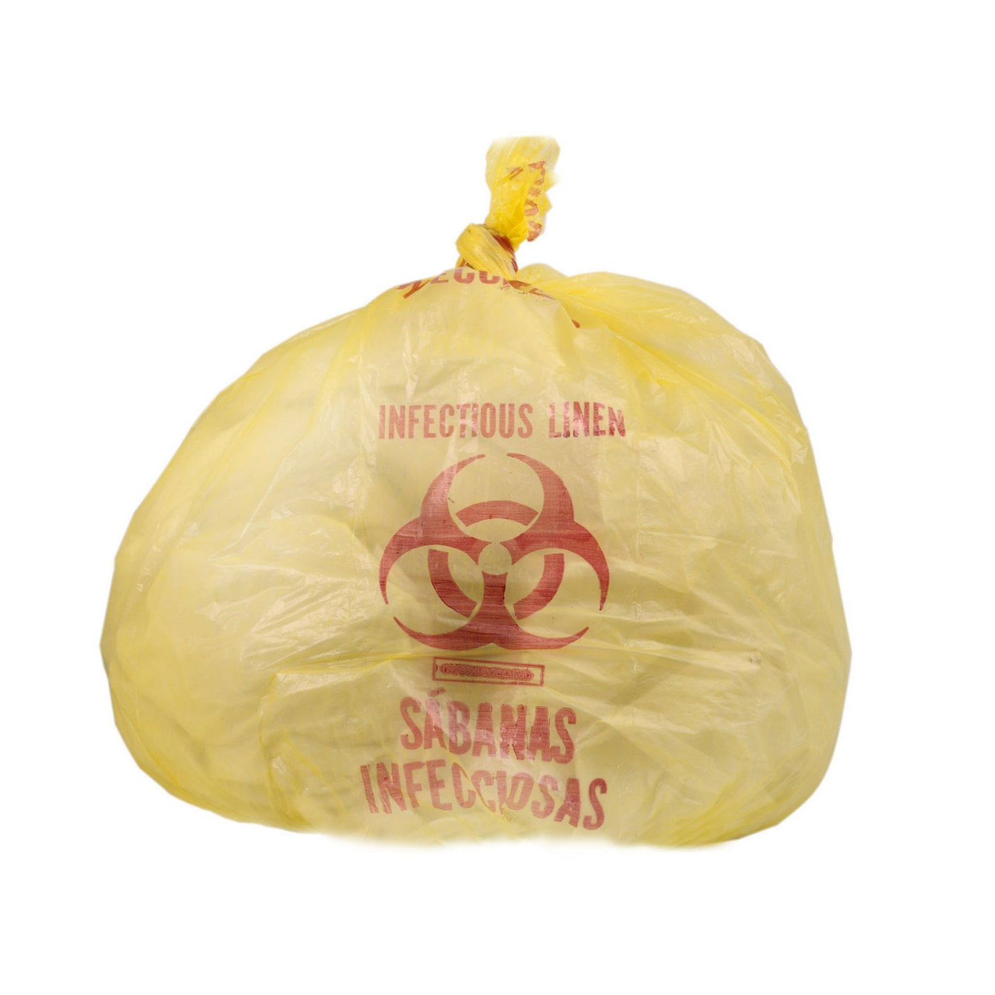 Yellow Infectious Waste Liners-Laboratory Accessory-Mortech Manufacturing Company Inc. Quality Stainless Steel Autopsy, Morgue, Funeral Home, Necropsy, Veterinary / Anatomy, Dissection Equipment and Accessories