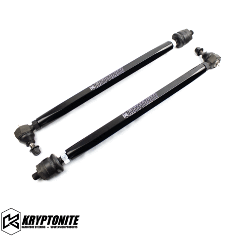 "KRYPTONITE POLARIS RZR DEATH GRIP TIE RODS STAGE ""1"" 2015-2021 XP (+3"" LONG TRAVEL)"