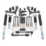 3.5'' SST LIFT KIT FRONT WITH 2'' REAR WITH FABRICATED CONTROL ARMS AND BILSTEIN SHOCKS- GM SILVERADO / SIERRA 2500HD 2020-2021