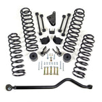 "4"" COIL SPRING LIFT KIT WITH ADJUSTABLE TRACK BAR - JEEP JK WRANGLER 4WD 2007-2018"