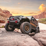 TERRAIN FLEX 4-ARM KIT WITH FALCON 2.1 MONOTUBE SHOCKS 2018-2021 JEEP JL WRANGLER