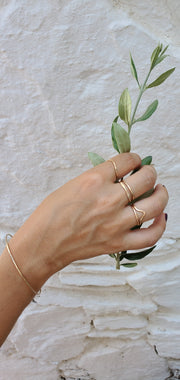 Eros Wave Ring
