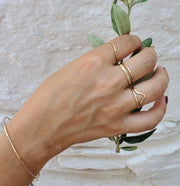 Eros Line Ring - Albisia Jewelry