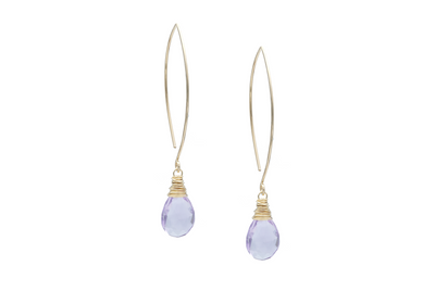 Amethyst Wish Earrings
