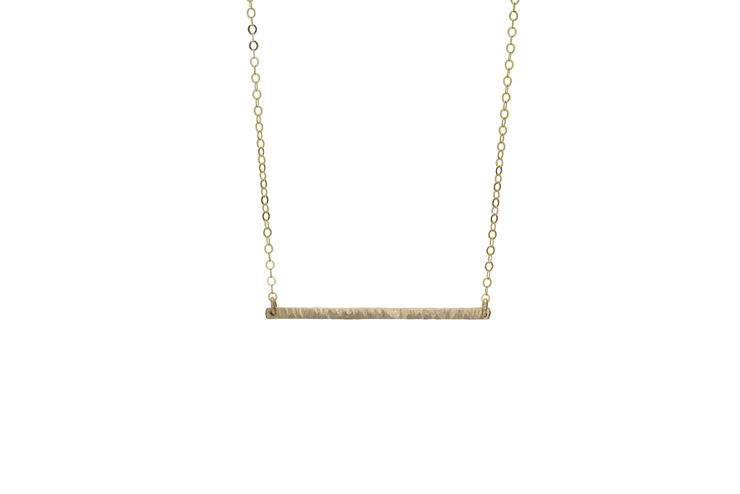 Ava Bar Necklace