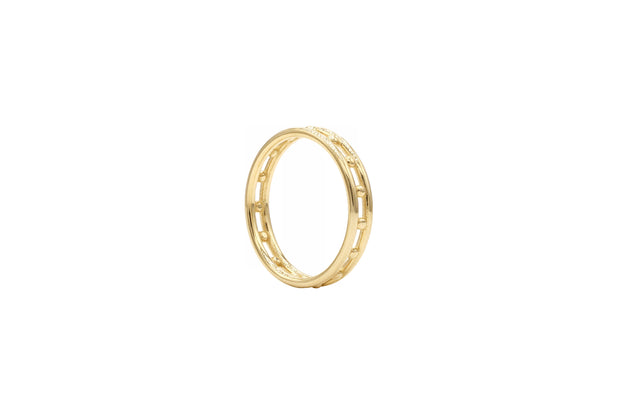Line and Dot Ring - Albisia Jewelry