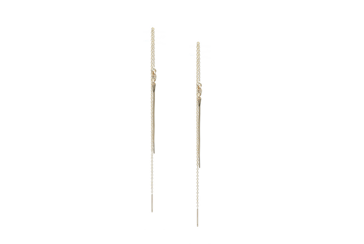 Long Bar Threaders - Albisia Jewelry