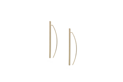 Bow and Arrow Earrings - Albisia Jewelry