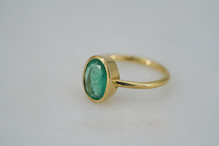 Colombian Emerald Ring - Albisia Jewelry