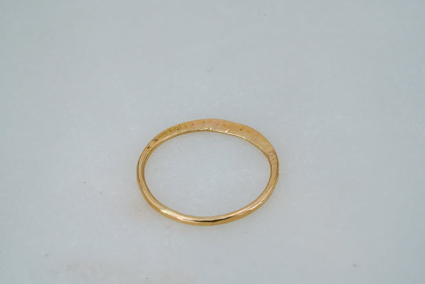 Eros Flat Ring - Albisia Jewelry