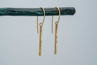 Fine Bar Earrings