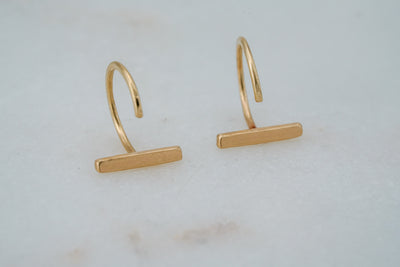 Isia Earrings - 14K Yellow Gold
