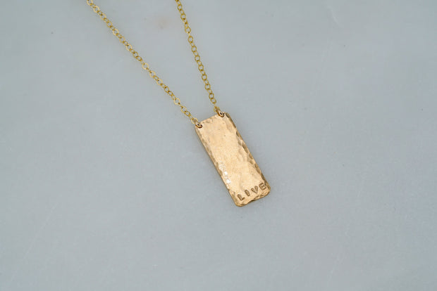 Tag Necklaces