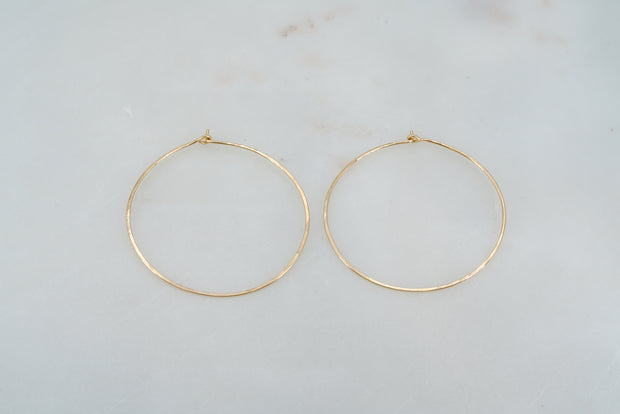Basic Hoop - 14K Gold Filled