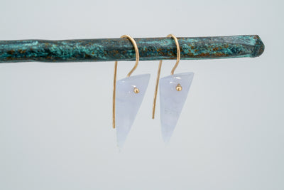 Calcedony Spike Earrings