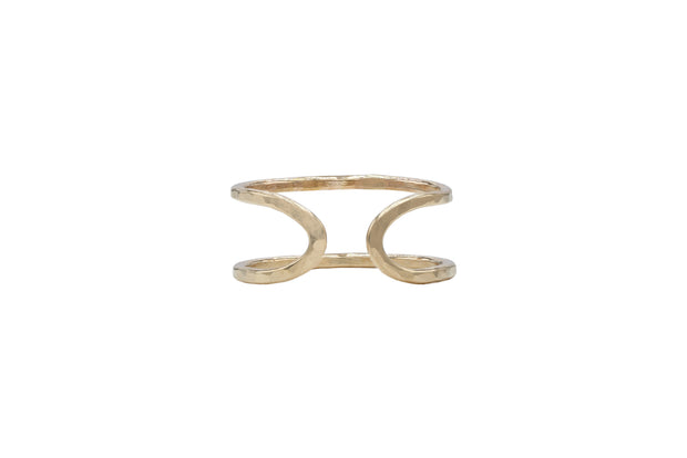 Entrambi Ring - 14K Gold Filled - Albisia Jewelry