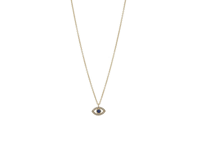 Evil Eye Necklace - Albisia Jewelry