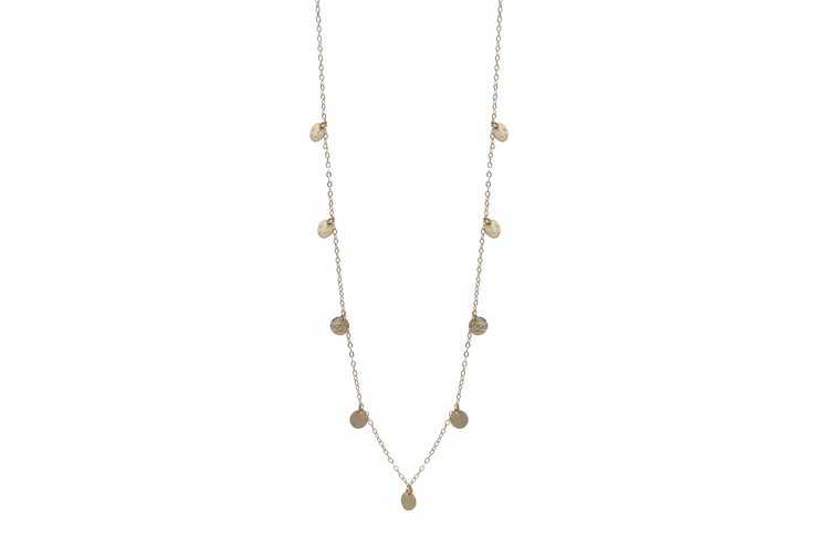 Fine 9 Necklace - Albisia Jewelry