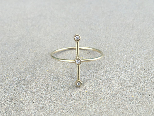 Diamond Constellation - 14K Gold